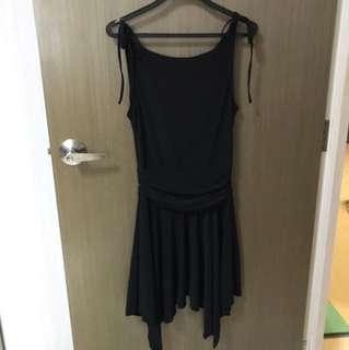 BN ASYMMETRICAL HEM BLACK DRESS