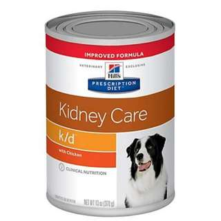 Hills kidney care dog can food