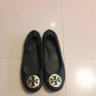 Tory Burch Flats Ladies Shoe Sz 38