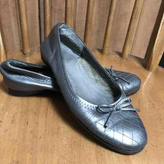 SALE! Matte Silver Grey Doll Shoes