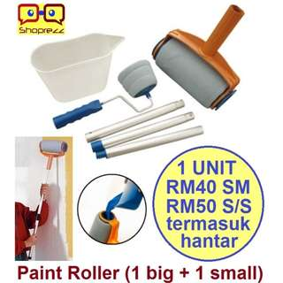 Paint Roller (1 big + 1 small)
