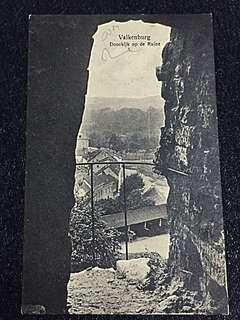 Vintage Postcard 1926 Valkenburg Roman Catacombs Used w Museum Romeinsche Katakomben Postmark