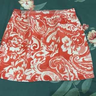 Forever 21 Original Orange Skirt