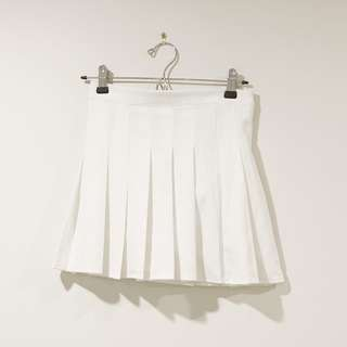 White/Black Tennis skirt