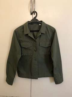 Uniqlo Military Shirt Jacket