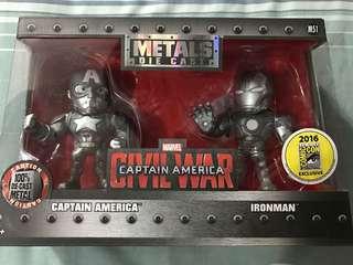 Metals Die Cast Civi War Captain America SDCC 2016