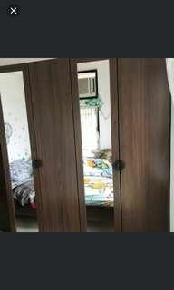 有鏡衣櫃兩個
