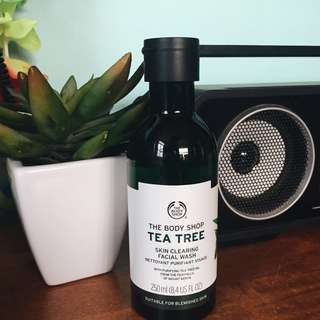 The Body Shop: Tea Tree Skin Clearing Facial Wash