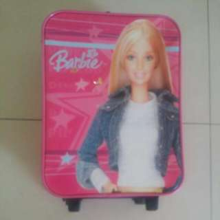 Barbie Trolley Luggage