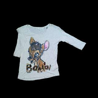 Long sleeves 3D Bambi
