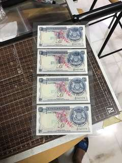 4piece run Unc  error