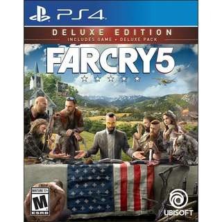 (PS4)FAR CRY 5 [DELUXE EDITION]