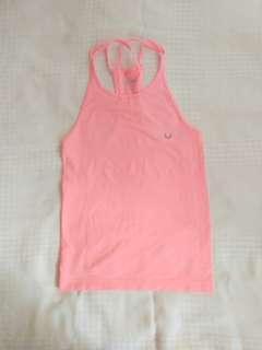 Pink Gym Tank Top