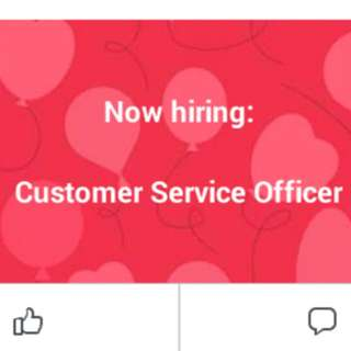 Customer Service Officer(Mandarin speaker only)