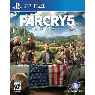 (PS4)FAR CRY 5 (CHINESE & ENGLISH SUBS)
