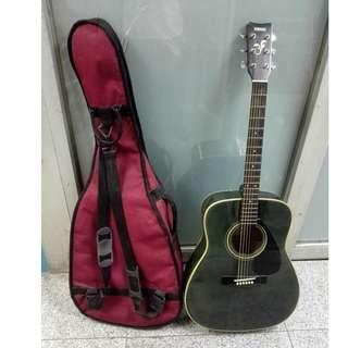 Yamaha Acoustic Guitar FG-411 Black With Case - 85 % NEW