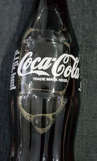 Coca cola in glass bottle 1996 vintage