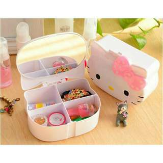 Hello Kitty Organizer w/ Mirror