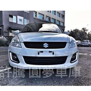 2014年 1.2 SWIFT 白 便宜賣 趕快預約看車唷 預約電話0925372075