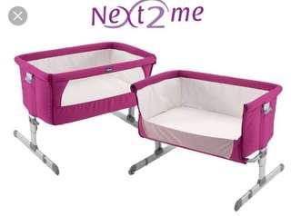 crib next 2 me co-sleeper