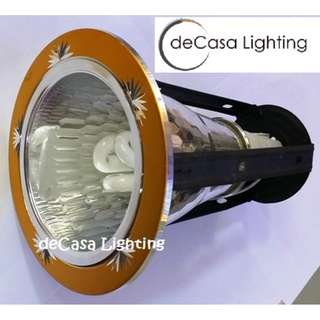 "Gold Colour DECASA 4"" DOWNLIGHT CEILING"