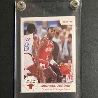 authentic / original Michael Jordan Star 1986 sophomore card