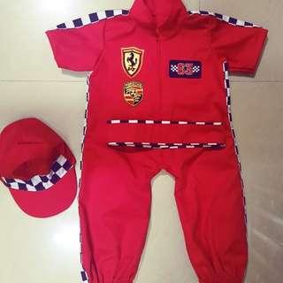 Baby Racing Costume