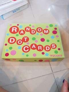 Educational Toys Random Dot cards