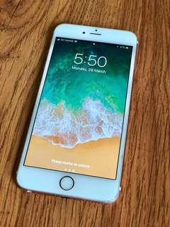 Iphone 6s Plus+ (Rose Gold 64GB)
