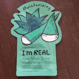 TonyMoly Aloe Face Mask