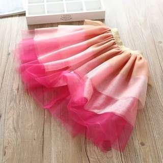 Kids fashion girl skirt