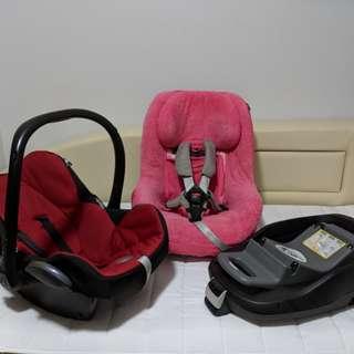 Maxi Cosi Cabriofix infant carseat