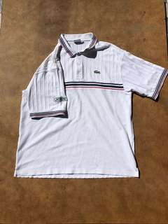 Lacoste Polo size Large