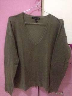 Mango Army Sweater