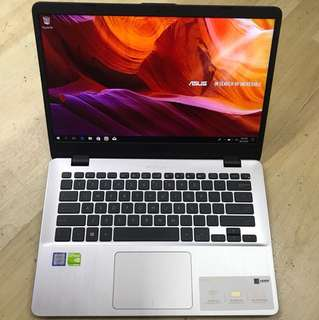 Asus Ultrabook X405UQ Core i7-7500u Nvidia GT940MX 2GB DDR5 Long Warranty!!