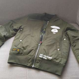 3M Aape by a bathing ape double sides jacket 雙面外套