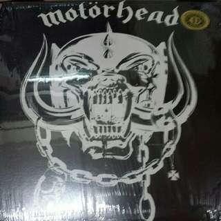 Motörhead–Motörhead - Vinyl Record LP - Drastic Plastic Records, White Vinyl