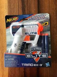 Nerf guns 3-dart micro blaster