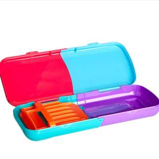 Smiggle foldable pencil case rm25 NEW
