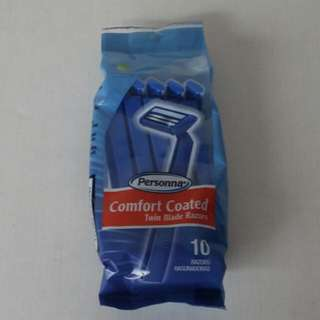Personna Comfort Coated Twin Blade Razors Pack Of 10