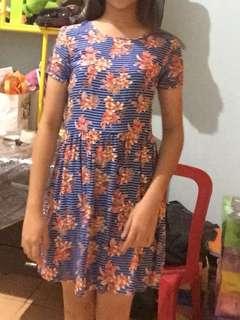 insight blue floral dress