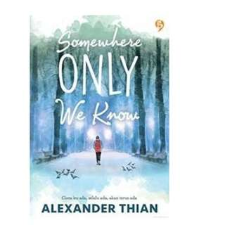 Ebook Somewhere Only We Know - Alexander Thian