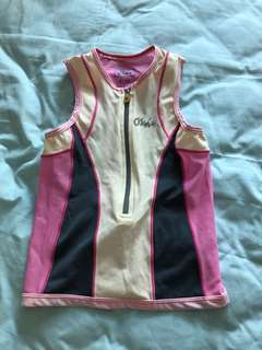 Kids Tri suit (gal). Not Worn before