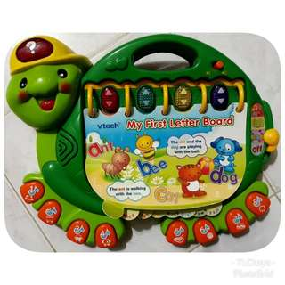 VTech My First Letter Board