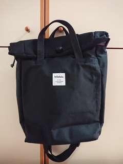 Hellolulu黑色側揹手提袋