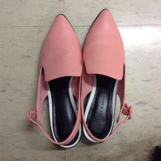 Charles & Keith pink shoes