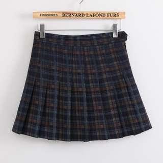 INSTOCK Tennis Skirt in Checkered
