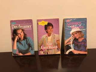 Lot of 3 rare Sweet Dreams books (Courtney Cox on the cover!)