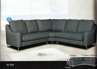 ansuran bulanan murah sofa L-shape model - SF3252