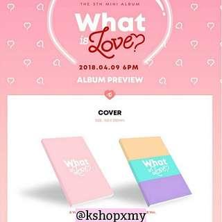 Twice 5th Mini Album - ' What Is Love? '
